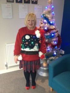 Fran's Winning Christmas Jumper