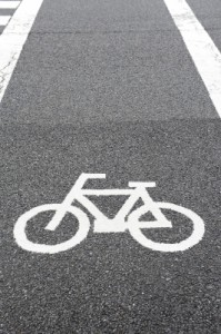 Image of a bicycle lane