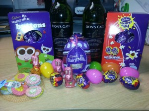 Easter goodies from NW Law Egg Hunt